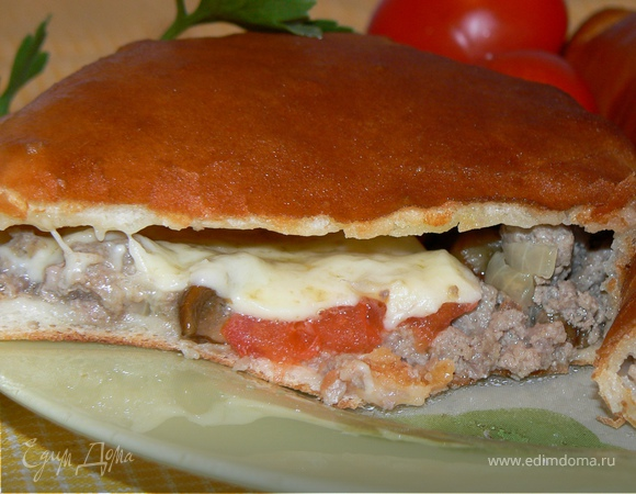 Итальянская пицца Кальцоне