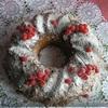 Рождественский миндальный кекс с брусникой (конкурс Tescoma)