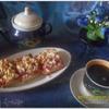 Два вида песочного печенья (С клубнично-ревеневой начинкой и творожно-клюквенное). Tescoma