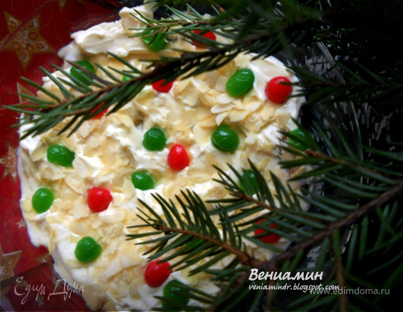Christmas Trifle - британский десерт
