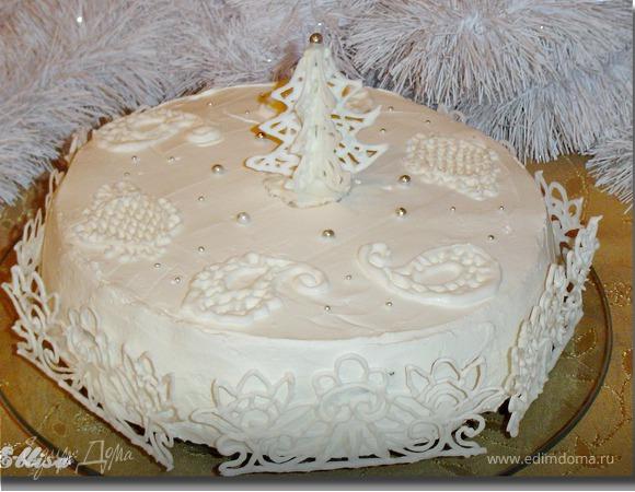 """Торт """"Новогодний"""""""