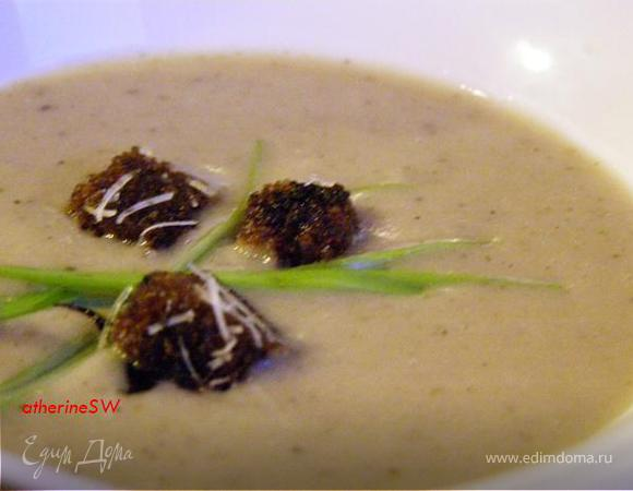 грибной суп пюре рецепт от высоцкой