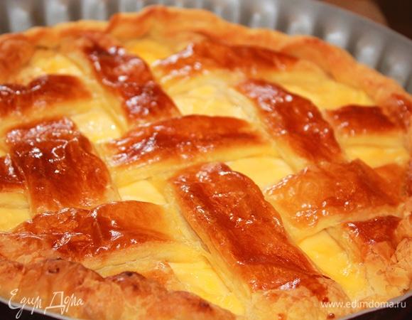 """Неаполитанский пасхальный пирог """"Pastiera napoletana"""""""