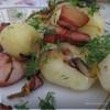 Молодая картошечка с беконом
