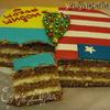 """Кокосовый торт с кремом баваруа (+ Бонус """"Торт с кофе и кардамоном"""")"""