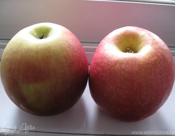 Kексы на фруктовом йогурте с яблоком и клюквой