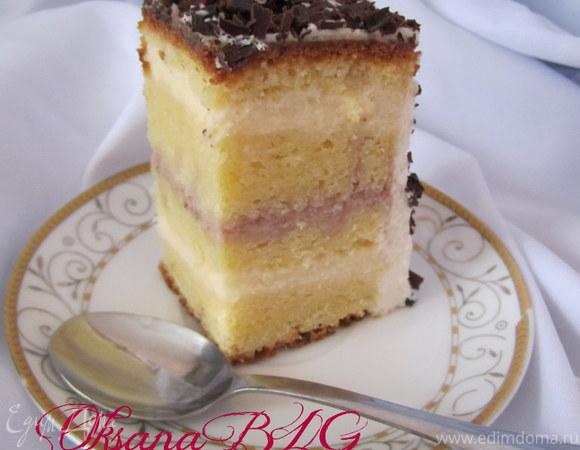 """Торт """"Сливочно-заварной"""""""