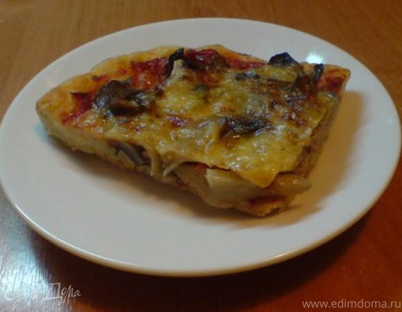 Базовый рецепт теста для пиццы