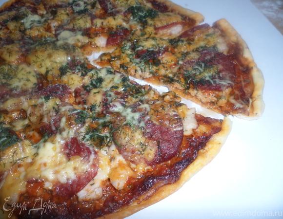 Пицца Ассорти (Assorti) +соус для пиццы