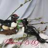 Птички из мастики