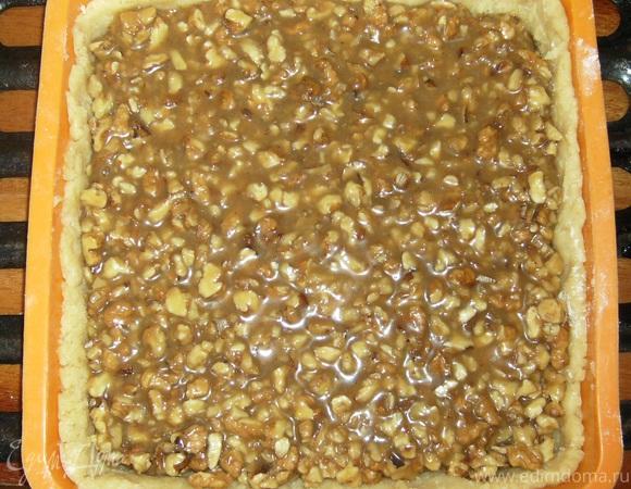 """Швейцарский ореховый торт """"Engadine"""""""