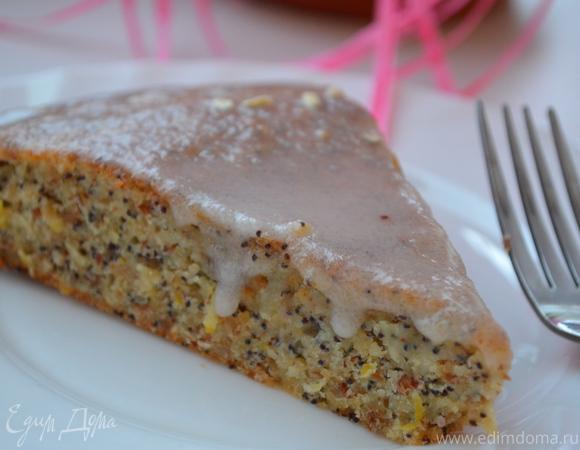 """Пирог """"Лимонный дождь"""" (Lemon drizzle cake) от Джейми Оливера"""