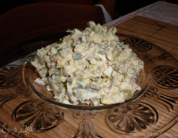 Салат столичный рецепт с мясом