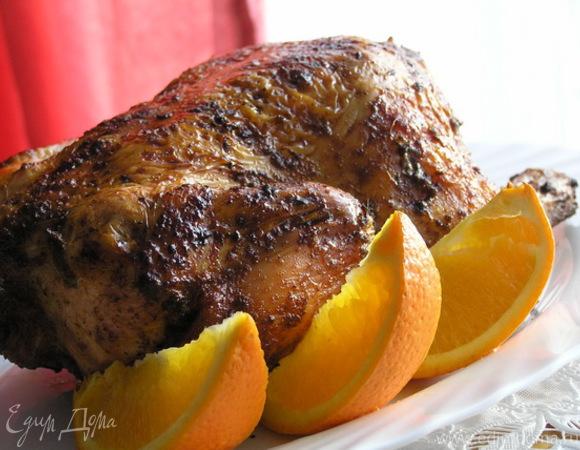Курица с апельсином по-испански