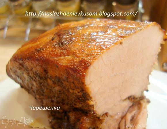 Ароматная свинина, запеченная в фольге