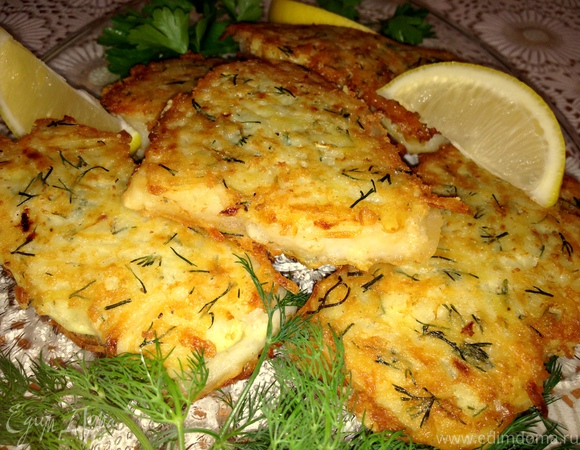Рыбное филе в шубке из картофеля