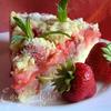 Сочный клубничный пирог