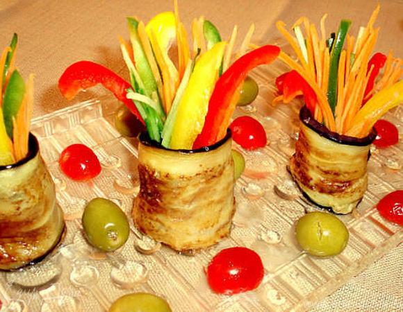 Горшочки с зеленью (цукини с овощами, куриной грудкой и зеленью)