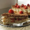 "Торт с крем-брюле и клубникой (""Strawberry clouds"")"