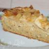 Яблочный пирог с морковью и миндалем
