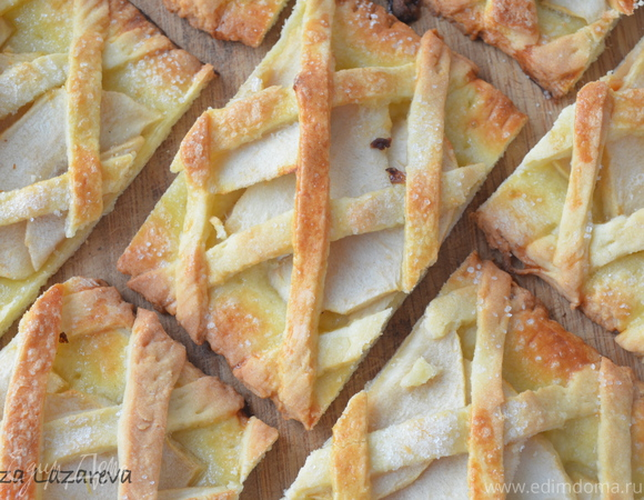 """Песочное яблочное печенье """"За решеткой..."""""""