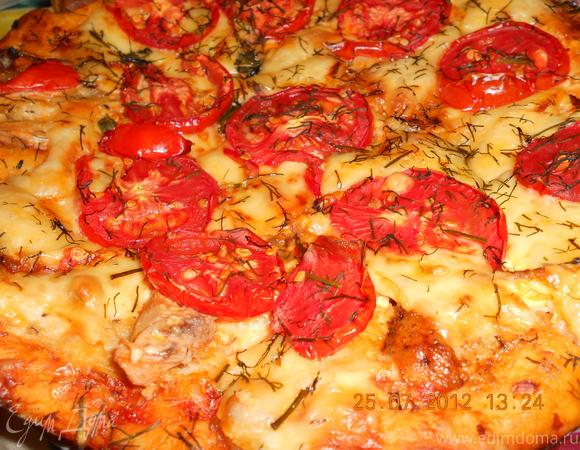 Пицца и бонус - ароматное масло