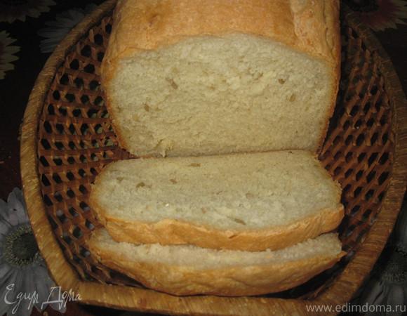 Очень простой рецепт домашнего хлеба