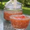 Ядреная закуска-соус из хрена и чеснока