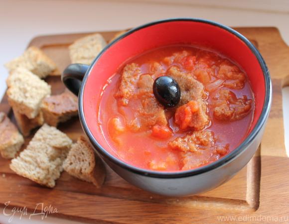 Паппа аль помодоро (Томатный суп с хлебом)