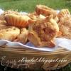 Печенье с яблочной начинкой и коричневым сахаром