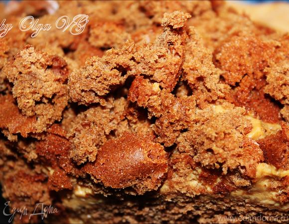 Кабачковый бисквит с кремом