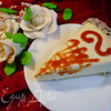 Лимонный шифоновый торт-суфле