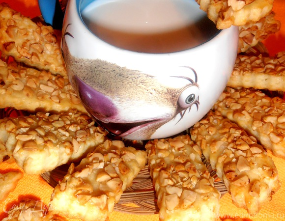Сырно-ореховое печенье НЕ для сладкоежек! (готовим вместе с HOMEGUEEN)