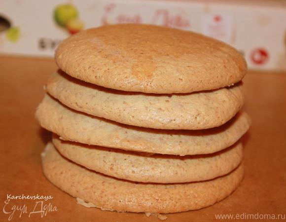 """Миндальное печенье (ГОСТ)+10 аргументов в пользу кулинарной бумаги """"HomeQueen Corporation"""""""