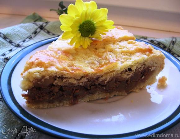 Швейцарский ореховый торт (Engadine Nusstorte)