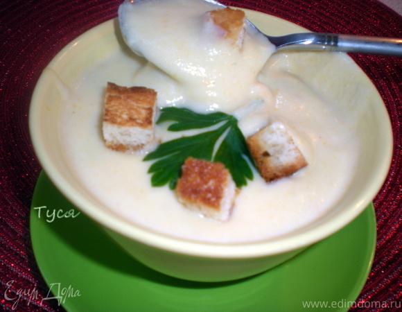 рецепт суп пюре из брокколи без сливок