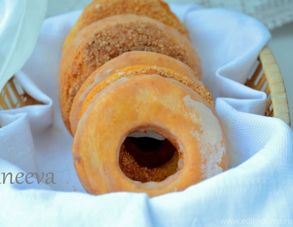 """Пончики к чаю в """"НALLOWEEN"""""""
