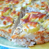 Пирог с курицей от Юлии Высоцкой