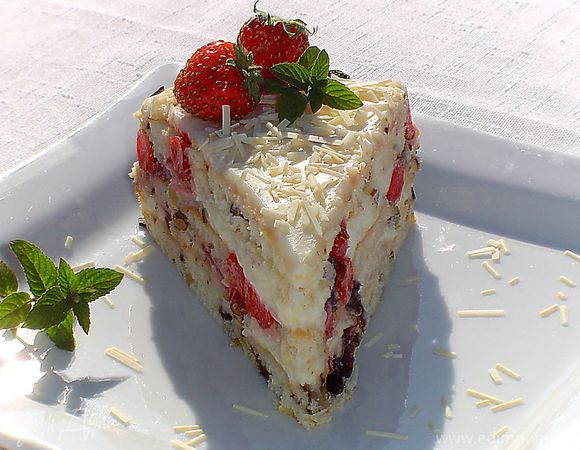 Торт персиковый рай фото 6