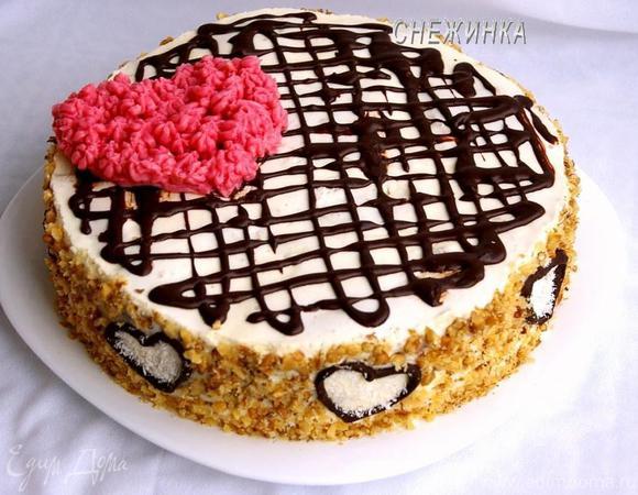Ароматный медовый торт на пиве «СЧАСТЬЕ»