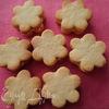Ванильное печенье с творожной начинкой