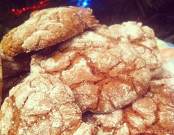 Мягкое шоколадное печенье