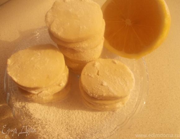 """Французское лимонное печенье """"К чаю"""""""