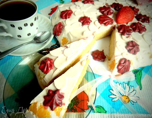 "Торт ""НЕЖНАЯ ИНТРИГА"""