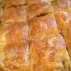 Слоеный пирог с паштетом из куриной печени