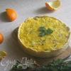 """Апельсиново-мятный чизкейк """"Апрель"""" (Orange et au fromage la menthe «Avril»)"""