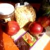 Быстрый яблочный штрудель с домашней арахисовой пастой для tatyana