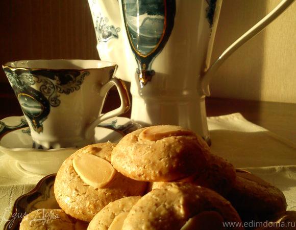 Миндальное печенье из рисовой муки