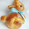 Творожно-дрожжевые пасхальные зайцы