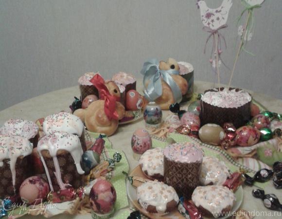 Кулич (Пасха) по маминому рецепту